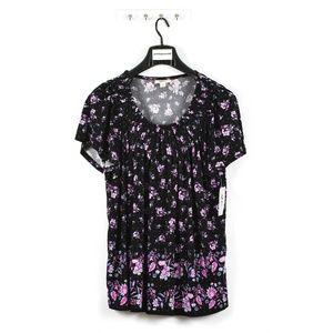 Style & Co. Women's Plus Size Floral Print T-Shirt